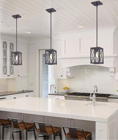 kenamp: Industrial kitchen lighting fixtures Led Pendant Light Pendant Lights Home Depot Lighting The Home Depot