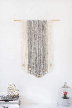 modern macrame wall hanging diy