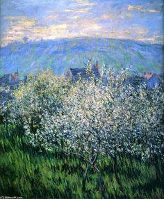 Prunes fleurs, 1879 de Claude Monet (1840-1926, France)