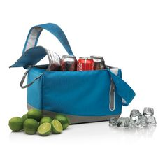 Kool cooler bag. Kool is a compact cooler bag in 300D with a comfortable to  carry shoulder strap. Now all your cans or small drinks will  never be warm again. Registered design®