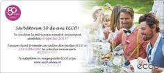 ECCO 50 de ani Place Cards, Place Card Holders