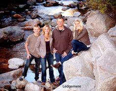 family below the camera