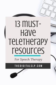 13 Must-Have Teletherapy Activities for Speech Therapy Speech Language Therapy, Speech Language Pathology, Speech And Language, Sign Language, Play Therapy Techniques, Therapy Tools, Therapy Ideas, Speech Therapy Activities, Language Activities