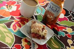 Isn't this amazing? {Strawberry Rhubarb Coffee Cake} I'm actually drooling here!  Thanks Michael! - @InDelight