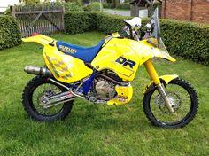 DR ZETA YELLOW by HESSLER Enduro Motorcycle, Motorcycle Rallies, Motorcycle Types, Suzuki Motos, Dr 650, Rally Raid, 3rd Wheel, Custom Bikes, Motocross