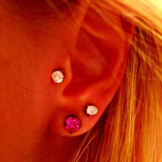 Thinking about adding doubles... I think this is so cute and the perfect amount of piercings!