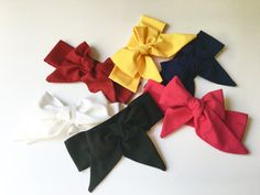Solid Headwraps by CozyCreaturesCo on Etsy #babygirl #bows #headbands