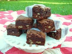 The famous brownies from the movie Notting Hill.