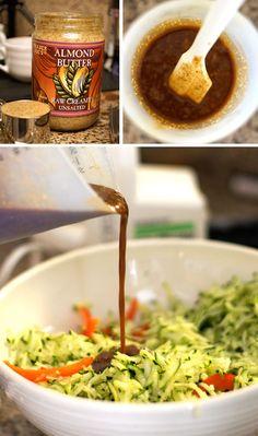 Tamari Honey Chicken With Broccoli & Almond Butter Sauce Recipes ...