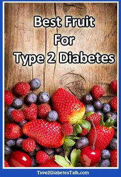 What is the best fruit for type 2 diabetes?