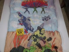 Vintage Centurians Sleeping bag by Ruby Spears Enterprises