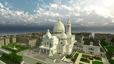 Minecraft cathedral 3