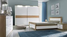 Buy affordable & unique furniture in Concept Muebles. We offer a wide assortment online : wall unit, wardrobes, sofas, tv stand, bedroom sets . Italian Bedroom Sets, Black Bedroom Sets, Kids Bedroom Sets, Cheap Bedroom Furniture Sets, Childrens Bedroom Furniture, Bedroom Wall Colors, Room Decor Bedroom, Oak Bed Frame, Simple Bedroom Design