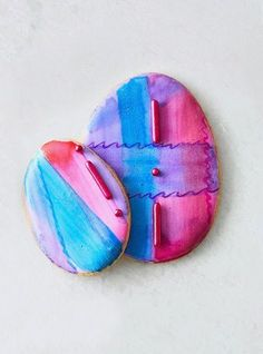 It's easy to upgrade your usual sugar cookie recipe for an ornate Easter treat by whipping up these citrus sugar cookie eggs. Try frosting the cookies with royal icing in pastel hues perfect for spring. Decorate with edible flowers, candy jewels, gold leaf flakes, and even glitter. #eastercookies #eastercookieideas #decoratedcookies #easterfood #dessert #bhg Royal Icing Cookies, Sugar Cookies Recipe, Cookie Recipes, Easter Cookies, Easter Treats, Cookie Decorating, Decorating Ideas, Edible Flowers, Easter Recipes