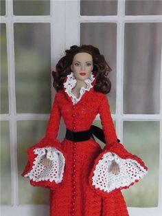 Вязаные наряды для кукол Тоннер / Одежда и обувь для кукол - своими руками / Бэйбики. Куклы фото. Одежда для кукол