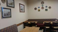 inside 02 Restaurants, Gallery Wall, Home Decor, Decoration Home, Room Decor, Restaurant, Interior Decorating