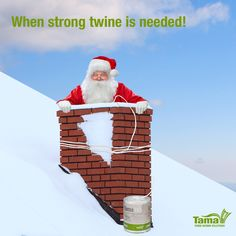Even during the off-season you never know when you'll need a really strong baler twine. Learn more about Tama twine --- >>> http://www.tama.co.il/baler-twine-brands/