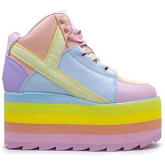 9cadc892332 QOZMO HI PASTEL ( 150) ❤ liked on Polyvore featuring shoes