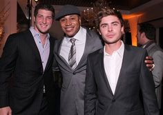 Tim Tebow, LL Cool J....and Zac Efron. nuff' said.  Pretty sure that Zac Efron is photo shopped but O WELL