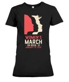 2af70ebb Women's March 2019 Boise ID T-Shirt - Wattpad Denver, Atlanta, My T