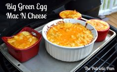Big Green Egg Mac N Cheese - super easy and creamy cheesy recipe.  So sinful it is a must try!!!