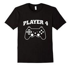 Men's Video Game Player 4 T-Shirt 3XL Black Video Game Pl... https://www.amazon.com/dp/B06ZYB2TVT/ref=cm_sw_r_pi_dp_x_lG19yb3T3QJDW