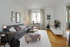 Sofisticado y elegante piso sueco