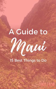 """Planning a vacation to Maui? Here are my 15 """"must do"""" experiences. I've included popular experiences (hey, they're popular for a reason!) like snorkeling at Molokini, driving the Road to Hana, and seeing the sunrise from atop Haleakala but also more """"off the beaten path"""" things like my favorite restaurant, the best town to shop in and a sure fire spot to find sea turtles! Let me know what you think...what's your favorite thing to do on Maui?"""