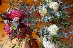 Waratah Wedding Bouquets