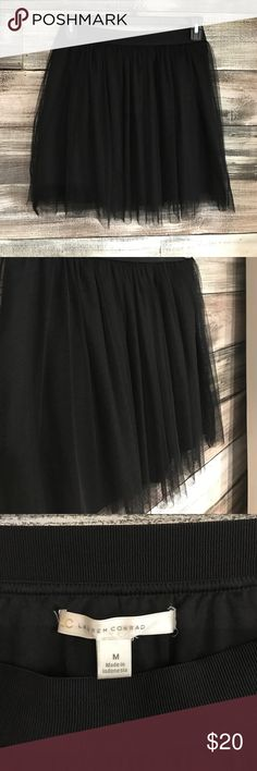 Lauren Conrad Short Tulle Skirt NWOT. Lauren Conrad Short Tulle Skirt. Never been worn. Elastic waist band. 2 layers of tulle. Skater style skirt. LC Lauren Conrad Skirts Circle & Skater