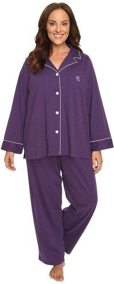 Charter Club Plus Size Mink Sleepshirt - Plus Size Pajamas & Robes ...