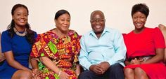 7 Photos That Prove Nana Addo Has A Beautiful And Supportive Family   The soon to be sworn in President of Ghana Nana Addo Dankwa Akufo-Addo has become a darling overnight after his historic victory in the 2016 December general elections. The 72-year-old who only succeeded to win the presidency after his third try has had the support of his party and most importantly his lovely family. Nana Addo is married to Rebecca Akufo-Addo and has five daughters  Nana Dokua Akufo-Addo Gyankroma…
