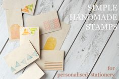 I've been meaning to try stamp carving for quite some time. There are tons of tutorials available online and I can't stop admiring beau...