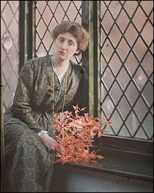 Olive Edis, photographer, autochrome