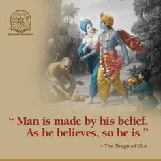 Gaudiya Mission: A missionary organization for preaching Hare Krishna mantra. Spreading spiritual messages of Lord Sri Krishna & Chaitanya Mahaprabhu. Krishna Mantra, Radha Krishna Quotes, Lord Krishna Images, Radha Krishna Pictures, Krishna Love, Krishna Art, Hare Krishna, Krishna Painting, Amazing Inspirational Quotes
