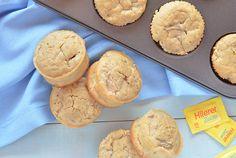 Muffins de manzana y avena sin azúcar No Carb Diets, Brunch, Low Carb, Keto, Cupcakes, Cookies, Breakfast, Desserts, Food