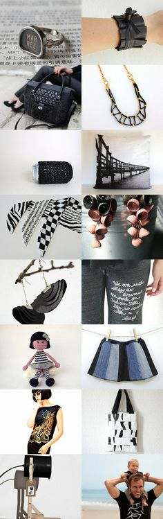 ECO BLACK. by Galina DAL on Etsy--Pinned with TreasuryPin.com #annehermine