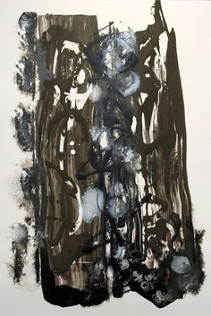 Abstract, mixed media, 19in. x 28in. TerraSkin, 14.12.2014, © Hugh S. Myers