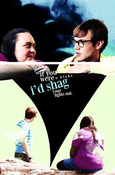 Rae & Archie. My Mad Fat Diary