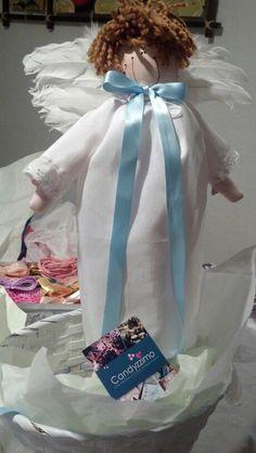 Centro de mesa de angelito :D Candyzzimo