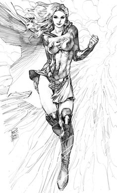 Supergirl by Philip Tan on ArtVault, Supergirl by Philip Tan on ArtVault, You can find Supergirl and more on our website.Supergirl by Philip Tan on ArtVault, Supergirl by Phi. Comic Book Artists, Comic Book Characters, Comic Artist, Comic Character, Comic Books Art, Héros Dc Comics, Comics Girls, Comic Drawing, Comic Styles