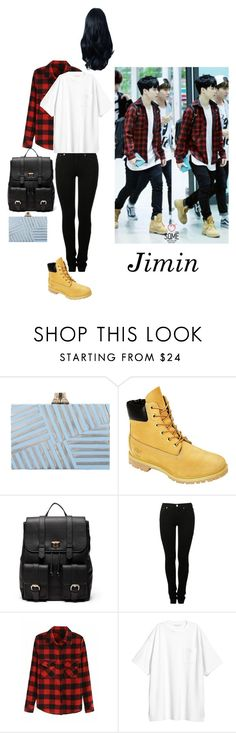"""BTS girl way: Jimin"" by mynameisblrryface on Polyvore featuring Kelly Wearstler, Timberland, Sole Society and MM6 Maison Margiela"