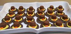 Edible Pilgrim Hats!
