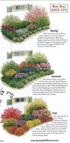 GARDEN: garden plan a week, week three seasons of beauty - The . - GARDEN: garden plan one week, week three seasons of beauty – The Urban Domestic Diva: GARDENING -