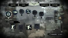 dishonored ui - Google Search Game Card Design, Game Gui, Pc Game, Button Game, Game Interface, Keys Art, Unreal Engine, Mini Games, Character Sheet