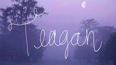 Uncommon names   Names given to between 5 and 15 baby girls in 2012: the state of Louisiana   #Teagan