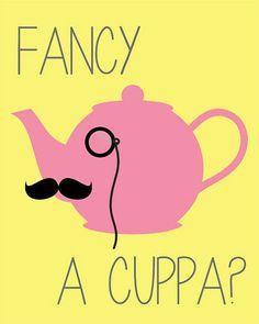 Fancy a Cuppa? #tea