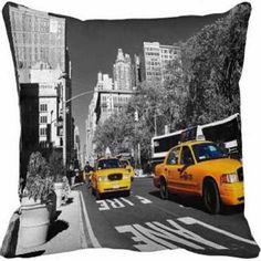Capa de Almofada Nova York NY003 | Quero Almofadas | Elo7