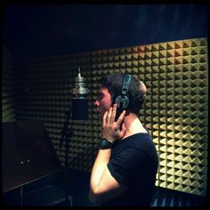 Aufnahmen im Liner Studio, Walldorf - Vocals