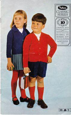 On Sale  Vintage 1960s  Patons Childrens by jennylouvintage
